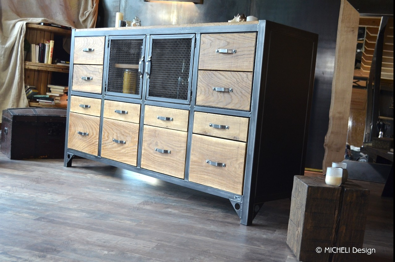 Grand buffet industriel 2 m - Jupiter - 254444