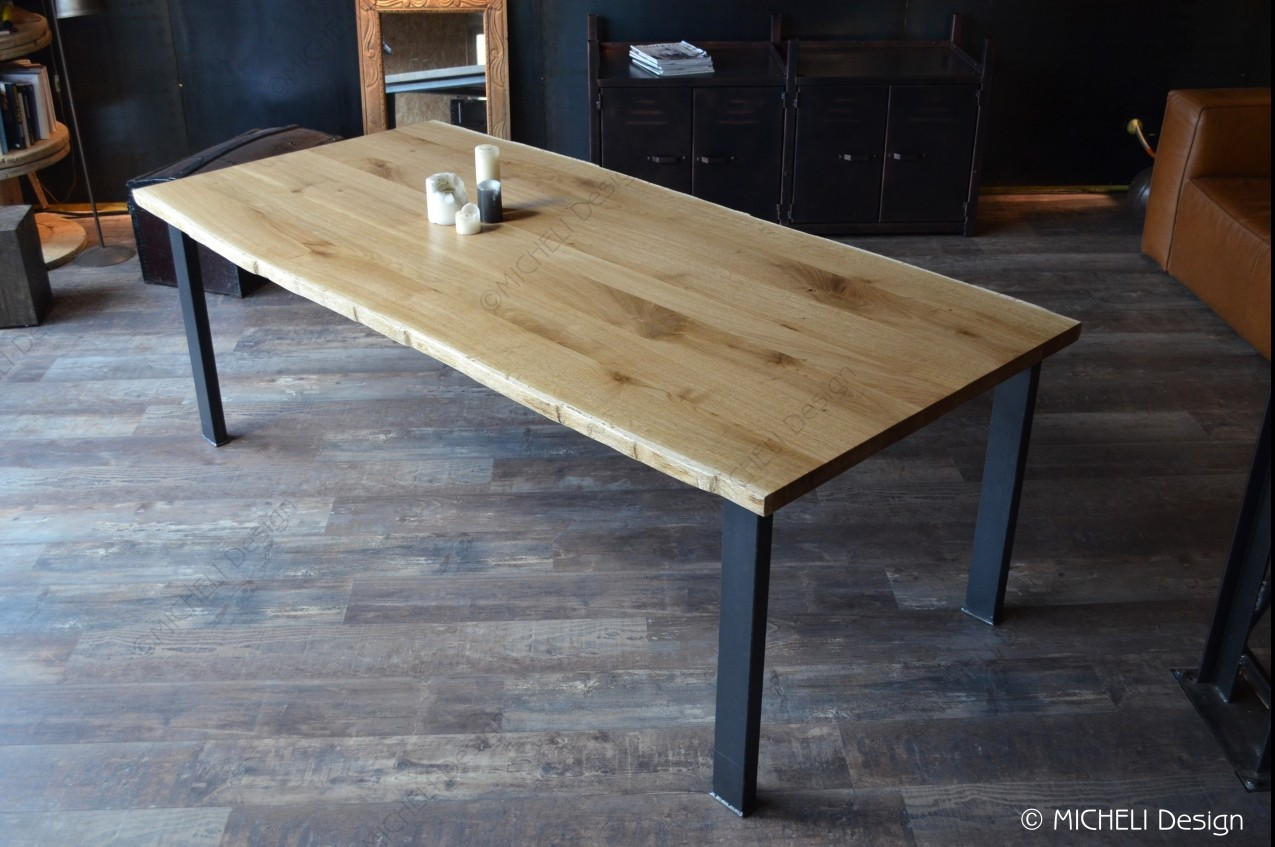 Table à manger Live edge - Ésa - 215088